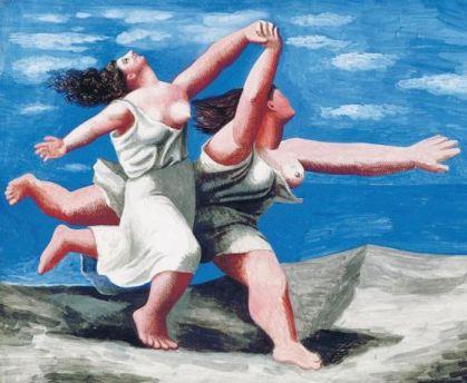 Picasso - Donne che corrono sulla sabbia
