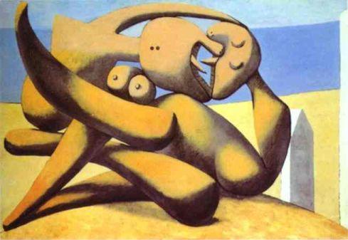 Picasso - Figure in riva al mare