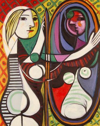 Picasso - Ragazza davanti allo specchio