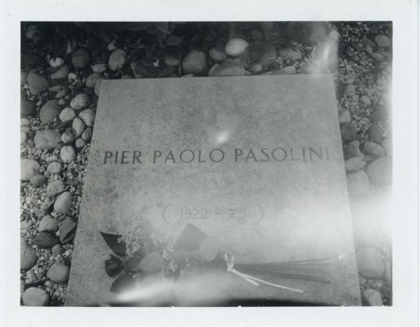Per Paolo Pasolini's grave