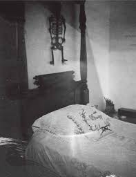 Frida's bed