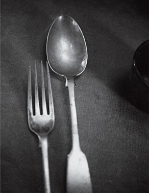 Rimbaud's fork and spoon