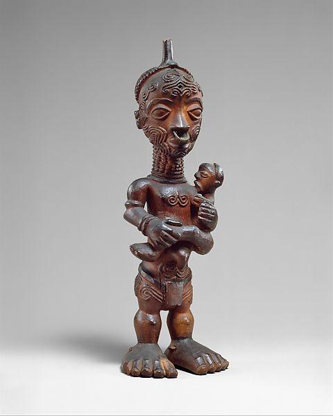 """""""manga kwa cibola"""", statuetta luluwa, Congo"""