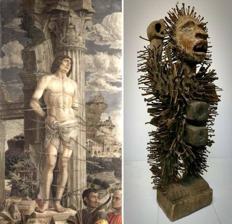 Mantegna, S. Sebastiano - statuetta